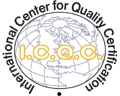 CE marķējums SIA INTERNATIONAL CENTER FOR QUALITY CERTIFICATION