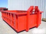 hook lift container, steel hall, welded steel construction