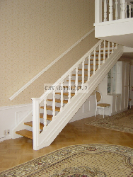Крашеная лестница K12 - Лестницы для дома