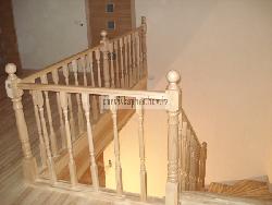 Ясеневая лестница K14 - Лестницы для дома