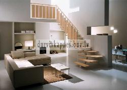 Комбинированная лестница K22 - Лестницы для дома