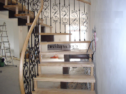Комбинированная лестница K6 - Лестницы для дома