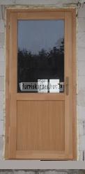 Балконная дверь AD5 - Входные ( наружные ) деревянные  двери