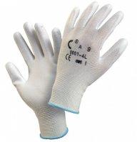 Перчатки из нейлонового трикотажа с полиуретановым покрытием 2103 - рулетка nylon 5m - Перчатки