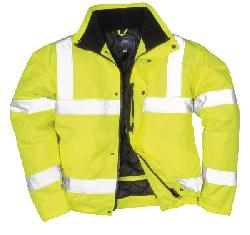 Светоотражающая куртка-бомбер S463 - Куртки - бомбер