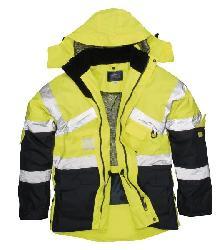 куртки зимние магазины lv - Двухцветная куртка S760 - Куртки