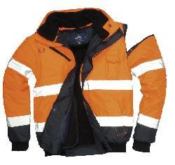 Куртки - бомбер - Контрастная куртка-бомбер C465y
