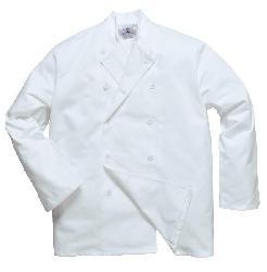 Apģērbi pavāriem - halāts balts - Tērps Sussex pavāriem C836