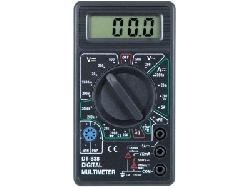 Мультитестеры, индикаторы напряжения - Мультиметр цифровой универсальный DT838