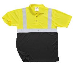 Рубашки - Двухцветная рубашка-поло S479