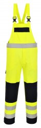 Светоотражающий многофункциональный полукомбинезон - рабочий полукомбинезон - Огнестойкая антистатическая рабочая одежда