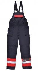 рабочий полукомбинезон - Двухцветный антистатический полукомбинезон - Огнестойкая антистатическая рабочая одежда