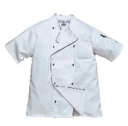 Apģērbi pavāriem - apģērbi pavāriem - Elpojošs halats pavāriem C676