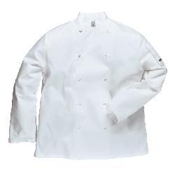 Apģērbi pavāriem - reversa slēdži - Halats Suffolk pavāriem C833x