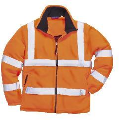 купить ткань на куртку - Светоотражающая флисова куртка F300 - Куртки