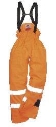 Антистатичные, огнеупорные брюки без подкладки S780 - Полукомбинезоны - тиски в латвии
