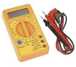 Мультитестеры, индикаторы напряжения - Мультиметр цифровой универсальный 9V