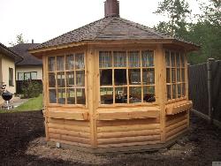 Lapene - dārza mājas projekti