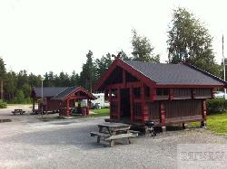 Norvēģu stila Lapene Nr.5_Anneks - dārza mājas projekti