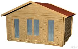 Dārza māja C - dārza mājas projekti
