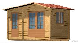 Dārza māja A - dārza mājas projekti