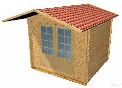 Dārza māja H - dārza mājas projekti