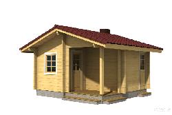 Баня Nr.4 (15м2) Банные домики