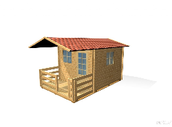 Dārza māja G - dārza mājas projekti