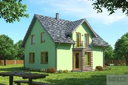Linda каркасный домик Дома 40-100 м2