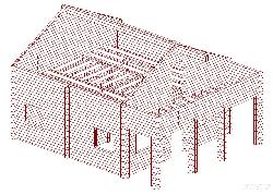 Mājas projekts Kalnu priede 80 - dārza mājas projekti