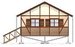 Летние домики Кипарис Летний домик