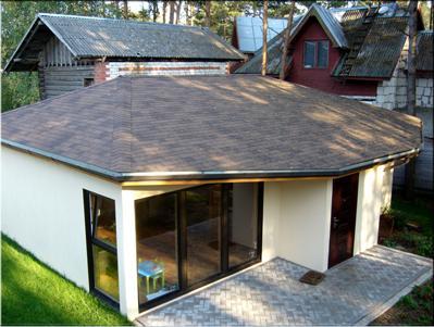 Проект дома Горная сосна 56 - Дома 40-100 м2