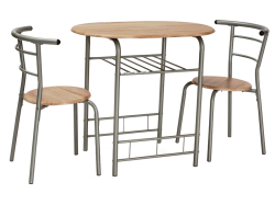 Available furniture Gabo table and 2 chairs Sale Furniture