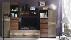 Dzīvojamās istabas komplekts Obsession A. Mēbeles dzīvojamai istabai. Modernās viesistabas