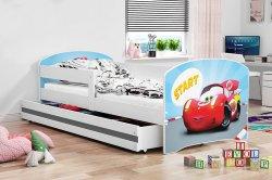 LUKI кроватка Кровати Кроватки Детские кроватки с 3 лет латвия