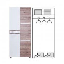 PASSIONATA PS1 шкаф - шкаф двухдверный купить - Шкафы 2-дверные