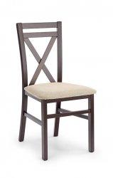 Tumšais riekstkoks. DARIUSZ krēsls. Koka krēsli