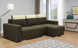 Bog Fran - Furniture Manufacturer Poland - Angular sofas - Novelts LARSON without padded stools corner folding sofa