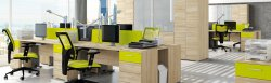 Office furniture sets. Optimal 1 office set. Belarusian office furniture
