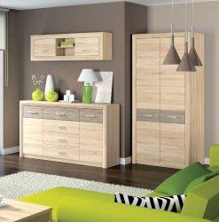 CASTEL 3 viesistaba - Modernās viesistabas - viesistabas mēbeļu sistēmas