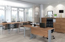 Belarusian office furniture. Office furniture sets. Optimal 3 office set