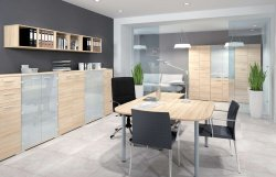 Belarusian office furniture. Optimal 4 office set. Office furniture sets