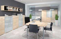 Biroja mēbeļes komplekti - izpārdod mēbeles - Optimal 4 ofisa komplekts