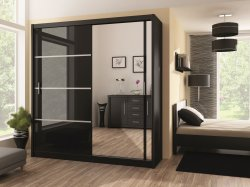 VISTA 203 - Wardrobes with sliding doors - Novelts - Sale Furniture
