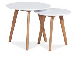 Журнальные столы Сделать маленький раскладной столик Milan S2 журнальный стол (2 шт.)