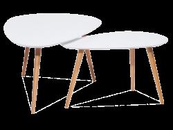 Nolan B журнальный стол (2 шт.). Маленький компьютерный столик. Журнальные столы