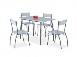 Modus galds + 4 krēsli. Galdi un krēsli (komplekti). Krēsli itālija