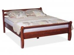 Koka priežu gultas Alfine gulta Gultas no koka