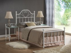 Lima 90 bed - Poland - SIGNAL - Metal beds - Bedroom