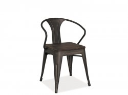 Metal chairs. Alva metal chair. Metal haned made barbecue